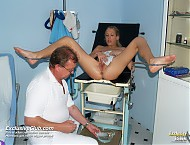 Lynn vag checking with gyn instrument and other gy...