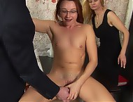 Interviewers want a secretary to show her sex skil...