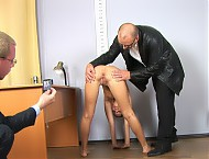 Very dirty offer at the maledom job interview
