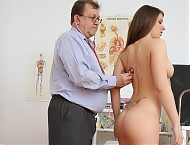 Ellen proper gyno instrument checking by naughty g...
