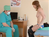 Real nude medical exam