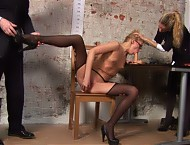 Hired as her pantyhose and sex skills are impressi...