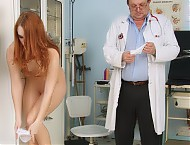 Denisa speculum vagina examination at gyno clinic ...